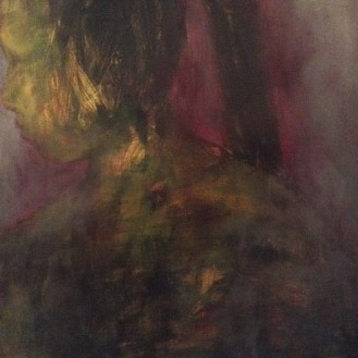 Selfportrait in profile
