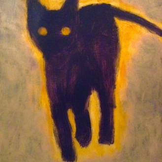The Cat with a Yellow Aura
