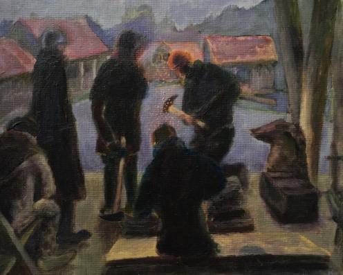 The Blacksmiths in a Fantasy World