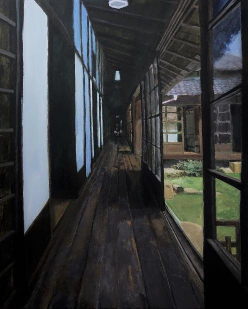 The Corridor in Chofu Mori Residence